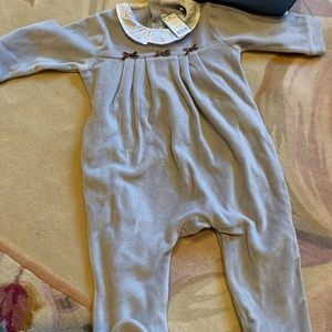 Jacadi Collar Jumpsuit 6m Baby Girl NWT and box